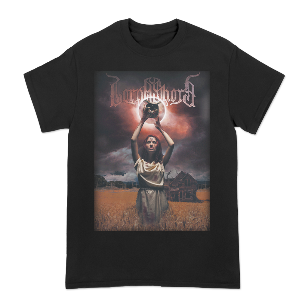 Lorna Shore Witch Worship design, printed on Gildan Apparel.