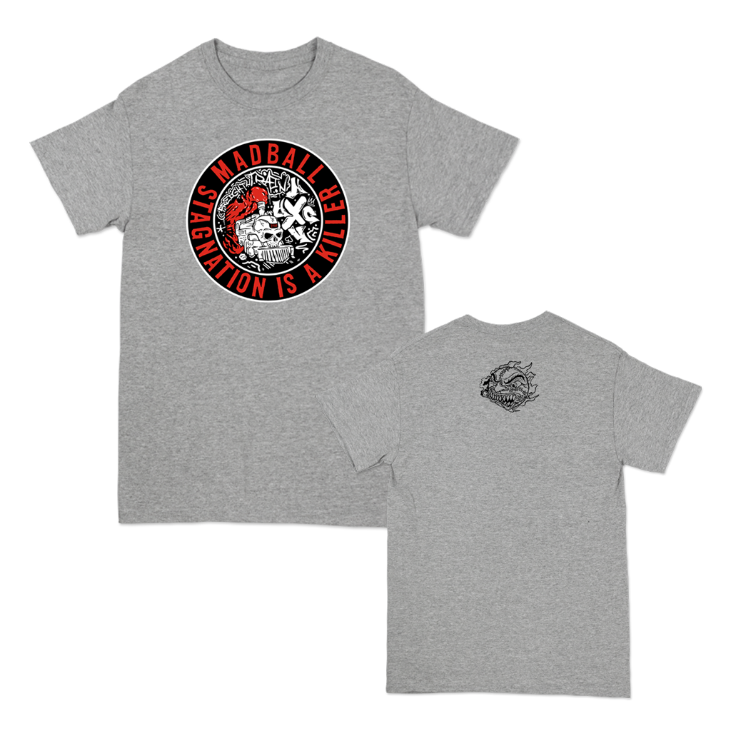 Madball Freight Train Tee printed on Gildan Apparel