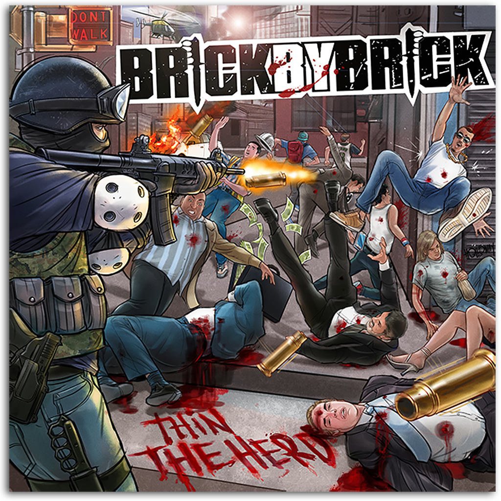 PITCHFORK BRICK BY BRICK THIN THE HERD 12 INCH