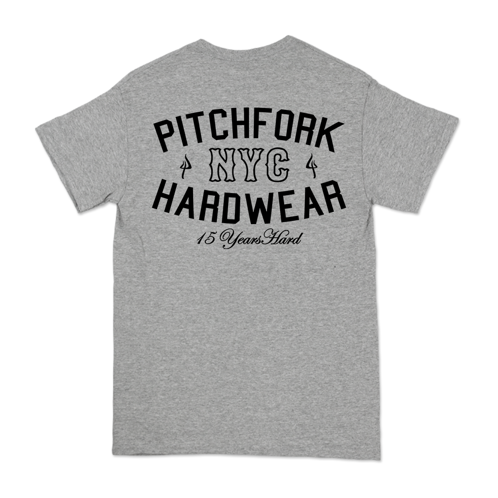 PITCHFORK-15-YEARS-HARD-TEE-ON-ATHLETIC-HEATHER