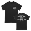 PITCHFORK 15 YEARS HARD TEE ON BLACK
