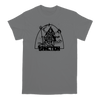 Sanction Kali design, printed on a grey Gildan Apparel tee.