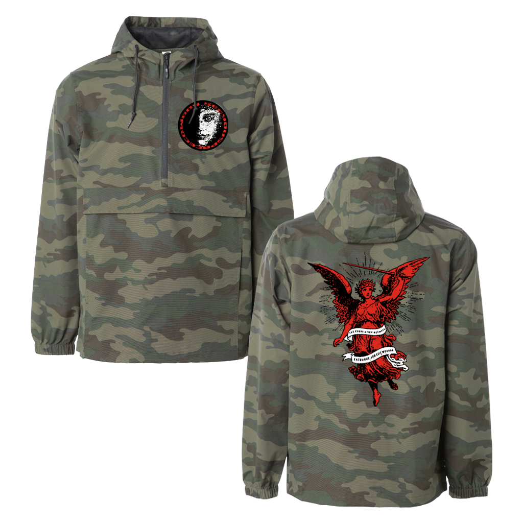 SEE YOU SPACE COWBOY ANGEL CAMO ANORAK JACKET