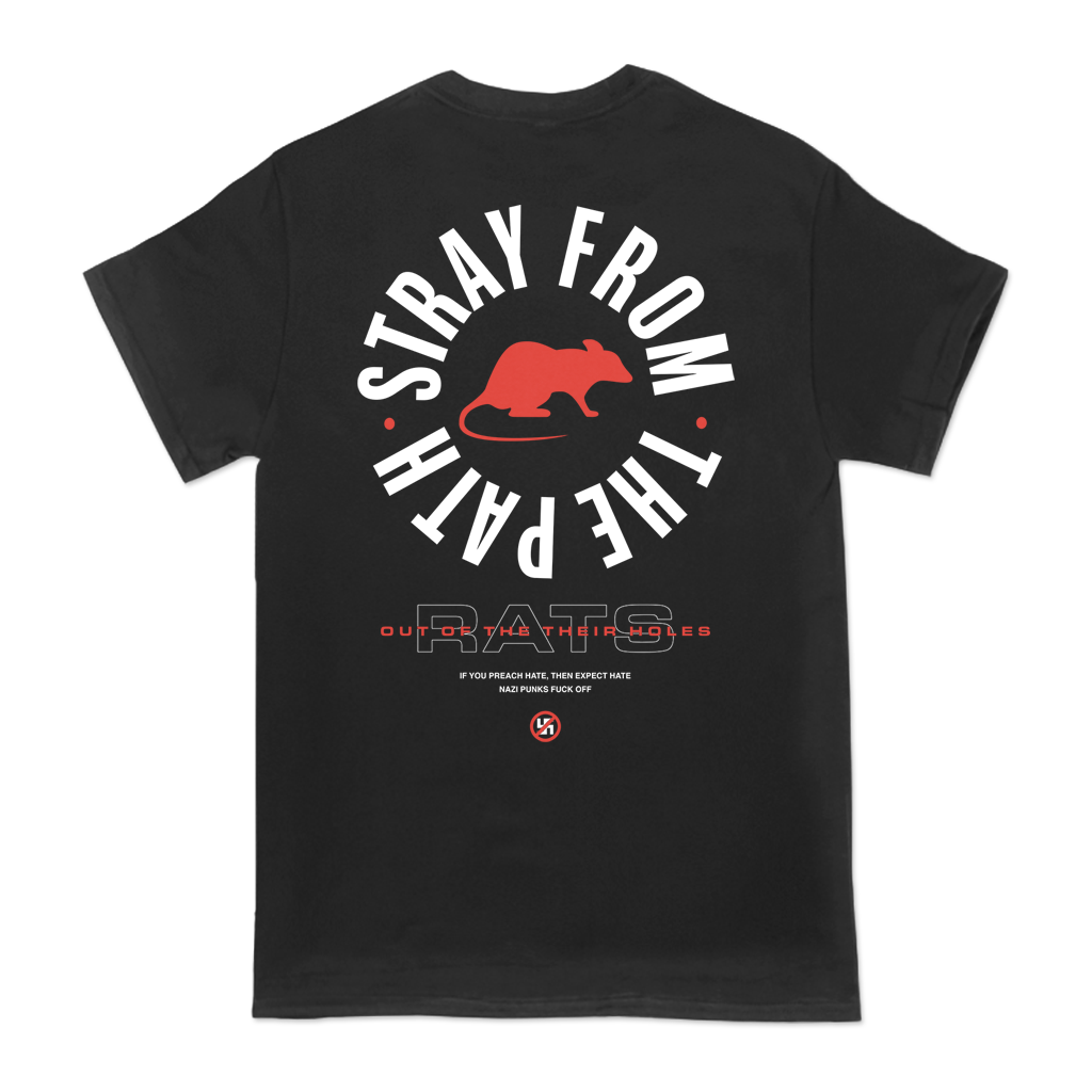 STRAY FROM THE PATH RAT CIRCLE TEE
