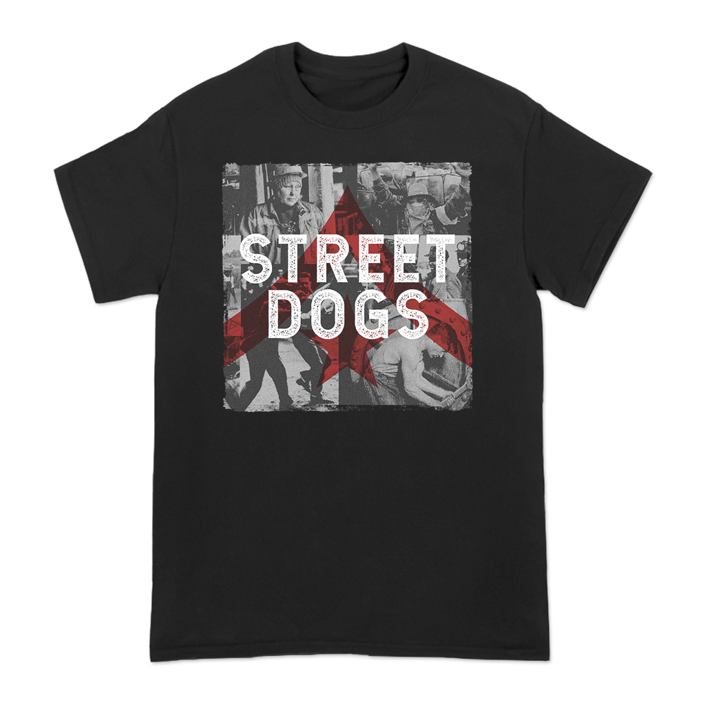 STREET-DOGS-OLD-PHOTO-COLLAGE-TEE
