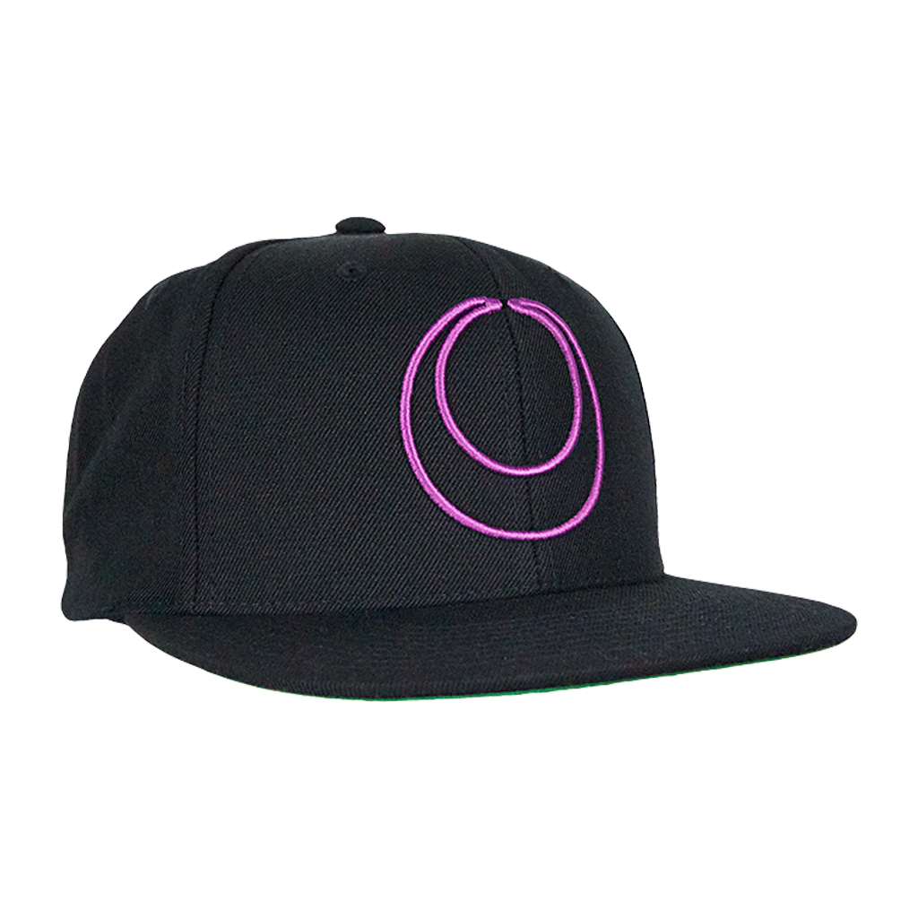 THE ACACIA STRAIN PURPLE CRESCENT SNAPBACK