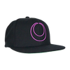 The Acacia Strain is an American Deathcore band originally from Chicopee, Massachusetts, United States, formed in 2001. This black snapback hat is embroided in vibrant purple and easy to adjust in sizing.