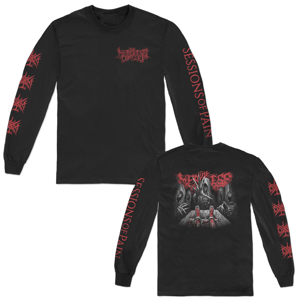 THE MERCILESS CONCEPT SESSIONS OF PAIN GRAPHIC LONGSLEEVE
