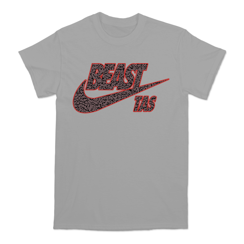 "The Acacia Strain ""Beast"" design, printed on the front and back of a silver Alstyle Apparel tee.  Tee features include: 6 oz. 100% preshrunk cotton, set-in rib collar with shoulder-to-shoulder taping, seamless double needle 7/8"" collar, double-needle sleeve and bottom hem, and a tearaway label.  The Acacia Strain is an American Deathcore band originally from Chicopee, Massachusetts, United States, formed in 2001."