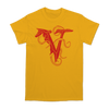 VEIL OF MAYA OCTO OUTLINE TEE ON GOLD