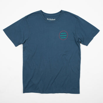 product: Mollusk Nighttide T-Shirt Nippon Blue