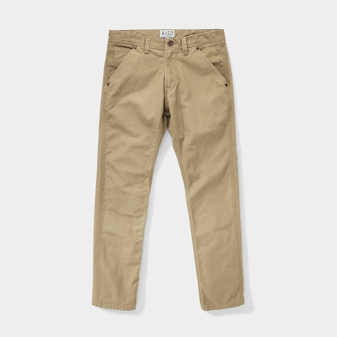 Almond Surfboards Rover Work Pant Khaki