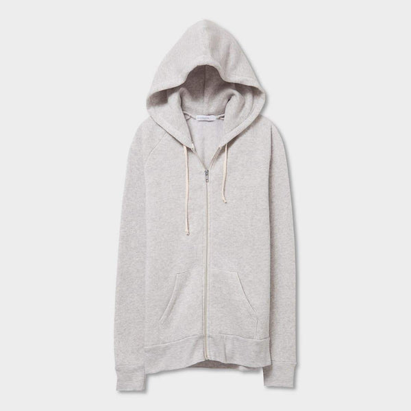 product: Alternative Apparel Adrian Eco-Fleece Hoodie Oatmeal