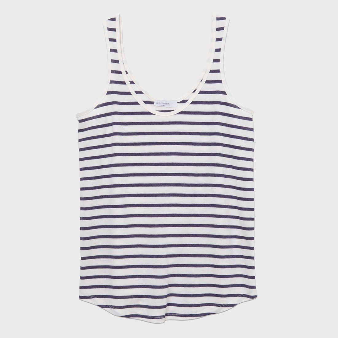 Alternative Apparel Castaway Tank Midnight Stripe