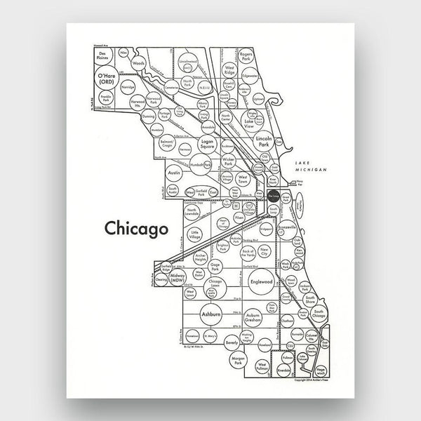 product: Archie's Press Chicago Print