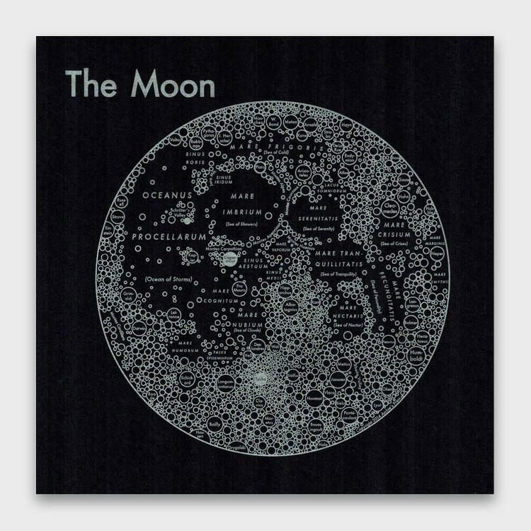 Archie's Press The Moon Print