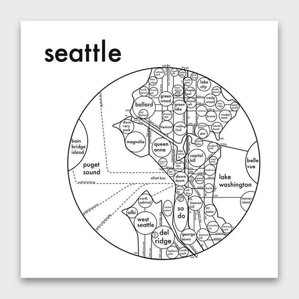 product: Archie's Press Seattle Print