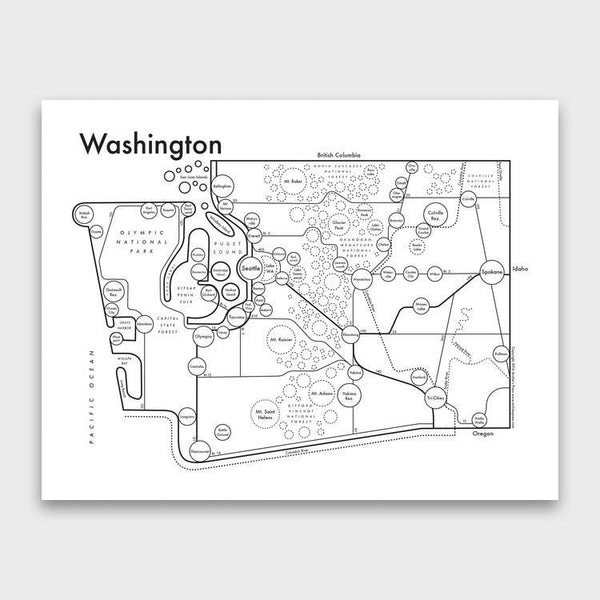 product: Archie's Press Washington Print
