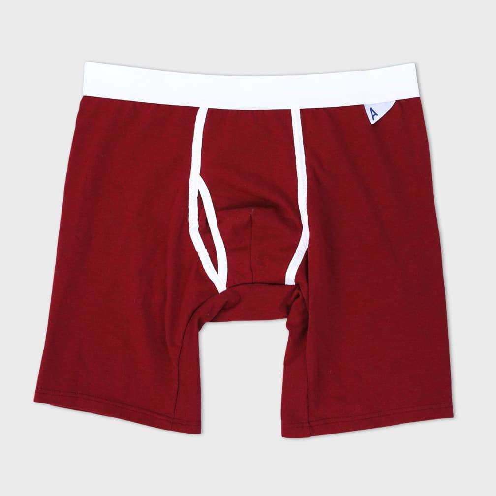Arvin Goods The Boxer Brief Granate