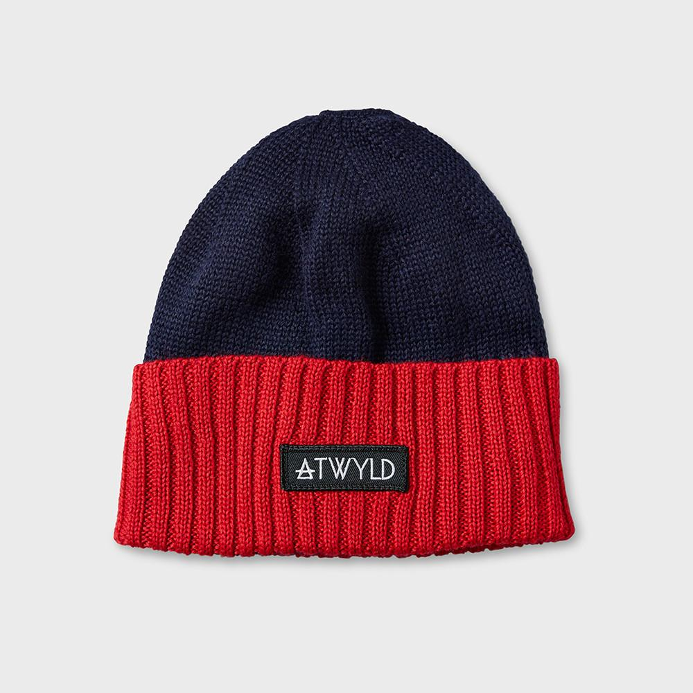 Atwyld Helmet Head Beanie Blue/Orange