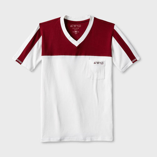 product: Atwyld Race Day T-shirt Vintage White