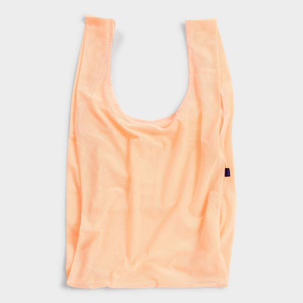 product: Baggu Mesh Bag Electric Peach