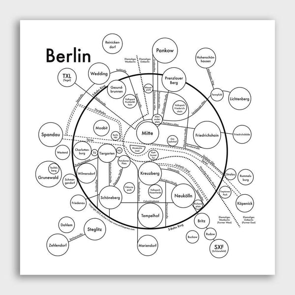 product: Archie's Press Berlin Map Print