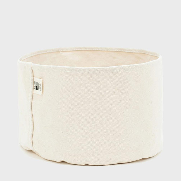 product: BLK PINE Large Canvas Planter Bucket Natural