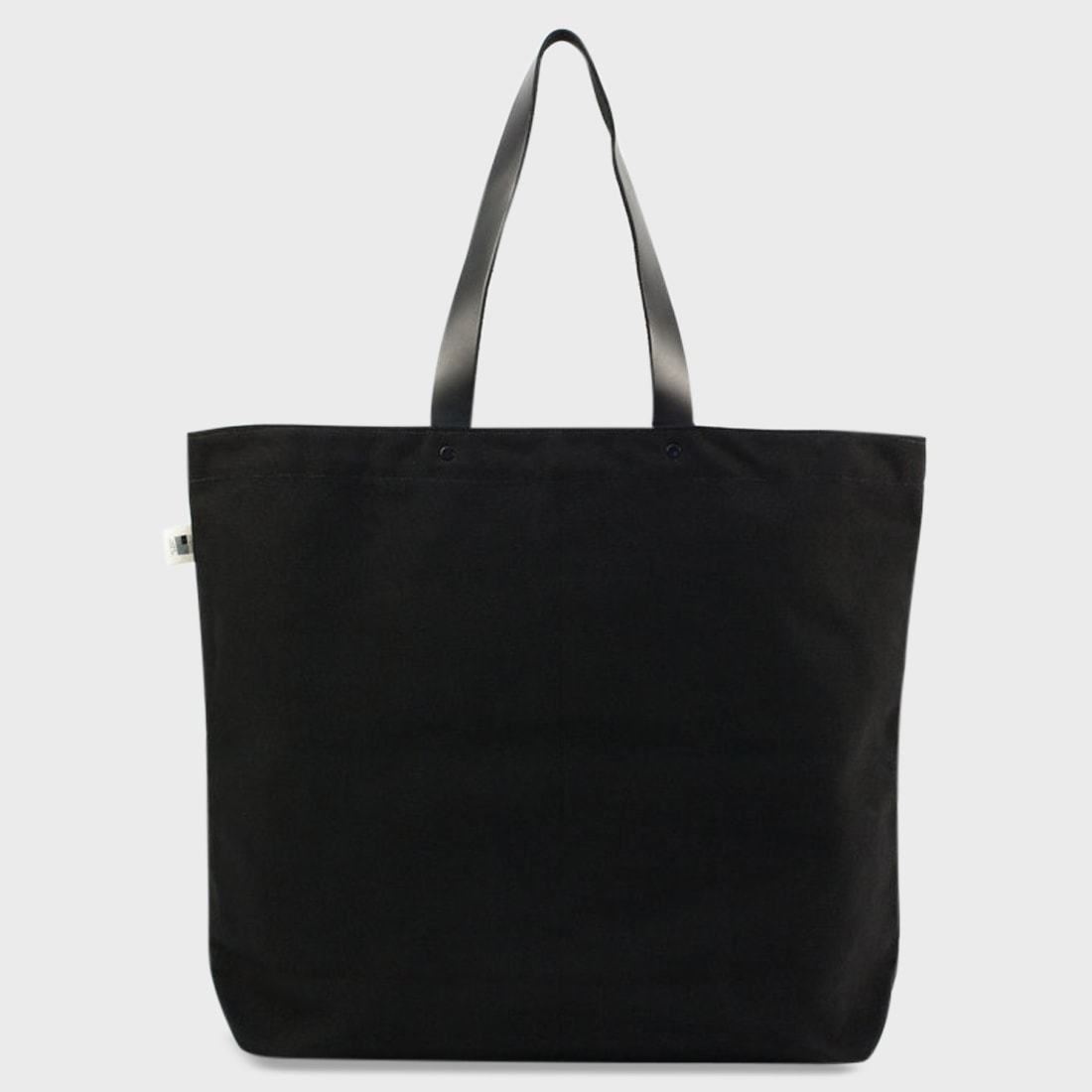 BLK PINE Uniform Canvas Large Tote Black