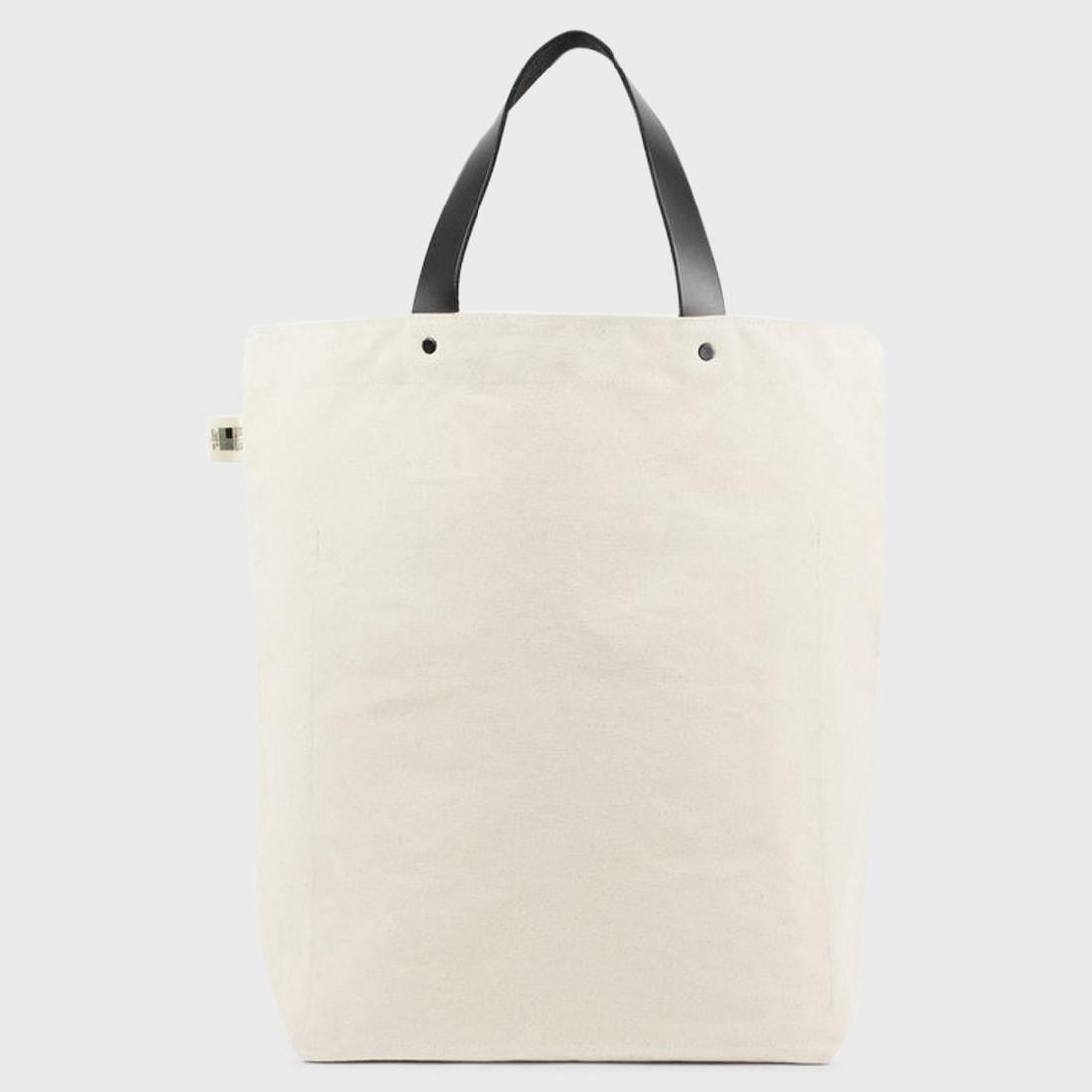 BLK PINE Uniform Canvas Tall Tote Natural