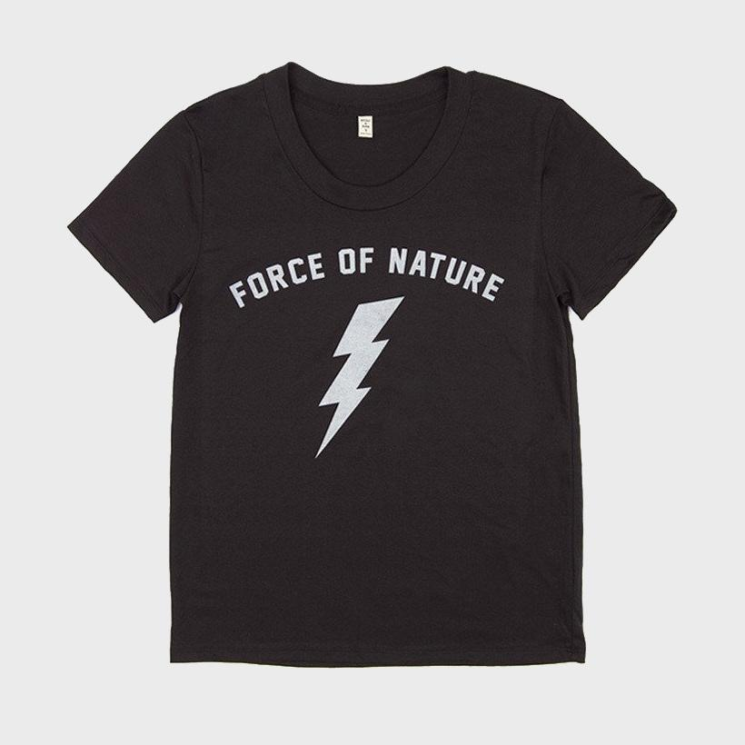 Bridge & Burn Women's Force of Nature T-Shirt Black