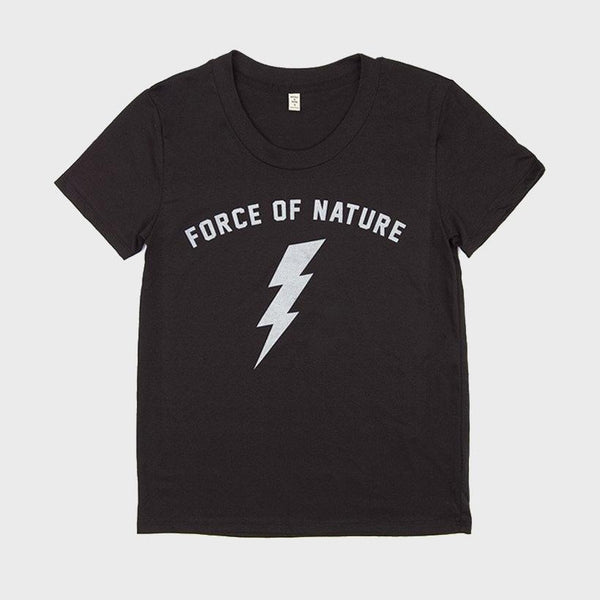 product: Bridge & Burn Women's Force of Nature T-Shirt Black