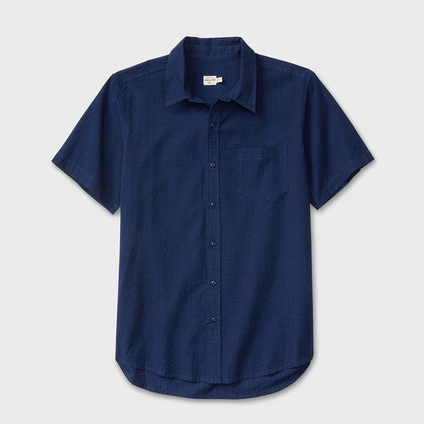 product: Bridge & Burn Harbor Indigo Seersucker