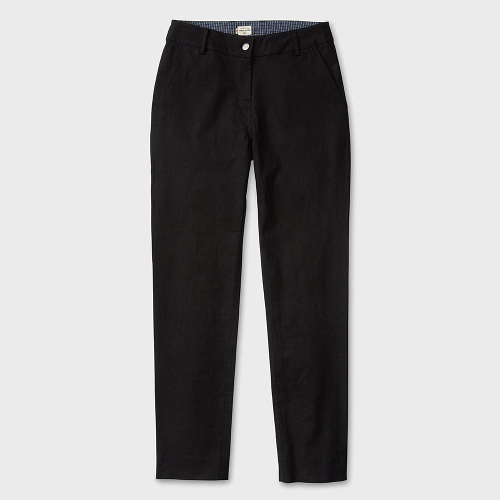 Bridge & Burn Market Black Stretch Linen