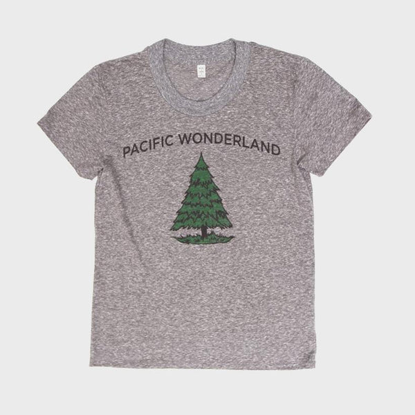 product: Bridge & Burn Women's Pacific Wonderland T-shirt Grey