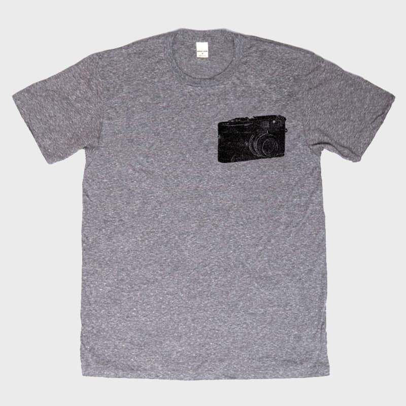 Bridge & Burn Camera Tee Dark Heather