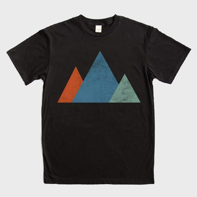 Bridge & Burn Mtns T-Shirt Black