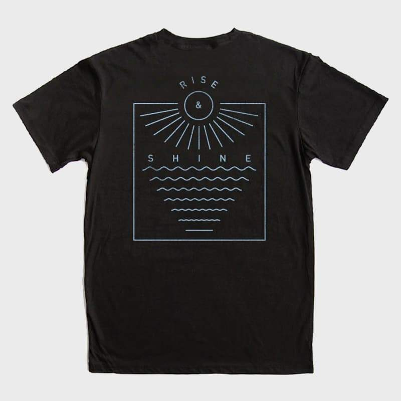 Bridge & Burn Rise & Shine Tee Black