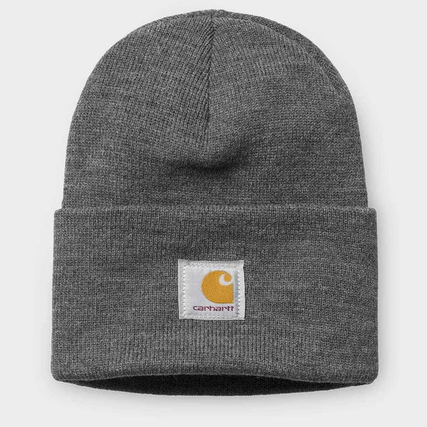 product: Carhartt WIP Acrylic Watch Hat Dark Heather Grey 7 Gauge