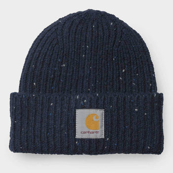 product: Carhartt WIP Anglistic Beanie Navy Heather