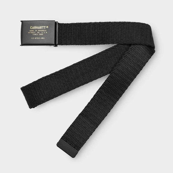 product: Carhartt WIP Military Printed Belt Black
