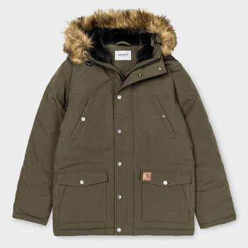 product: Carhartt WIP Trapper Parka Cypress / Black