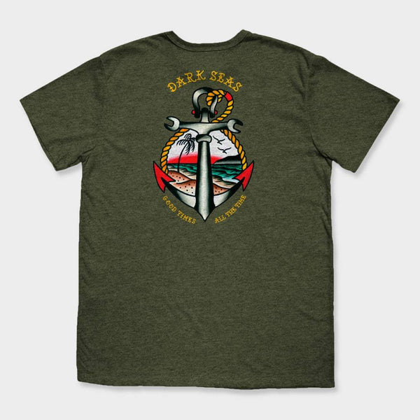 product: Dark Seas Avalon T-Shirt Juniper Green