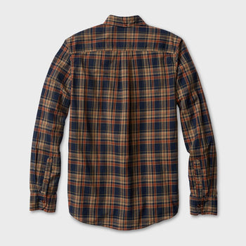 product: Deus Ex Machina Albie Overdye Check Navy Tabacco