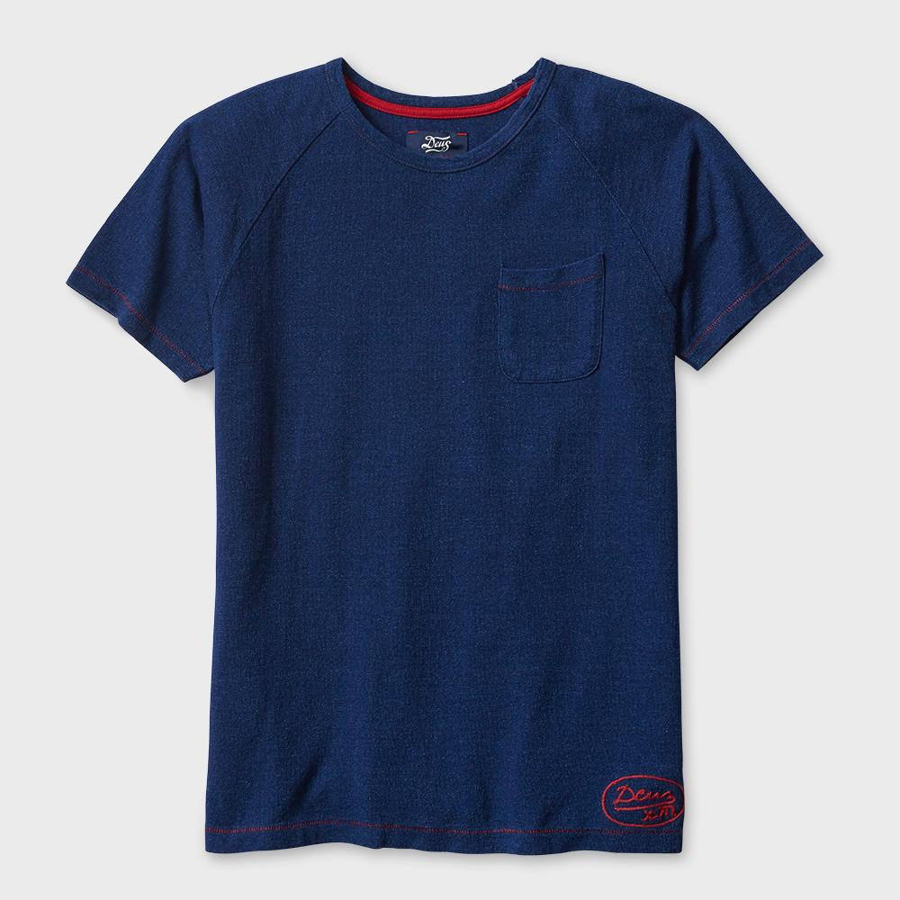 Deus Ex Machina Archie T-shirt Dark Indigo