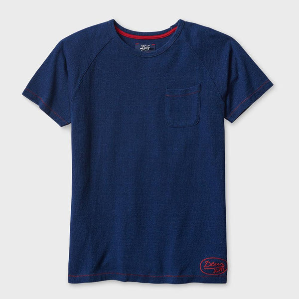 product: Deus Ex Machina Archie Tee Dark Indigo