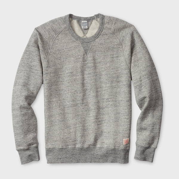 product: Deus Ex Machina Terry Slub Crew Grey Marie