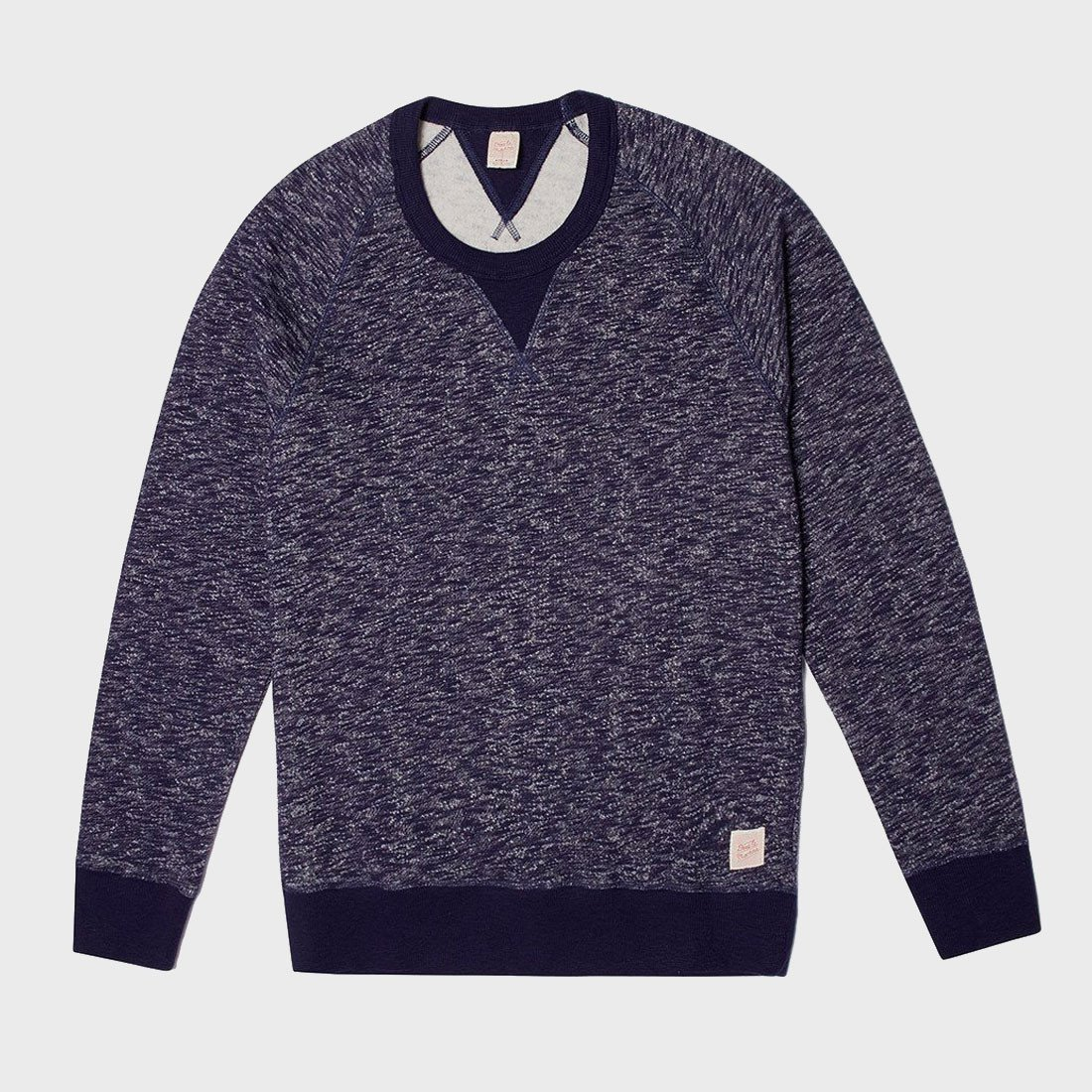 Deus Ex Machina Terry Slub Crew Navy Marie