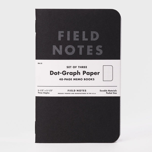 product: Field Notes Pitch Blackblack