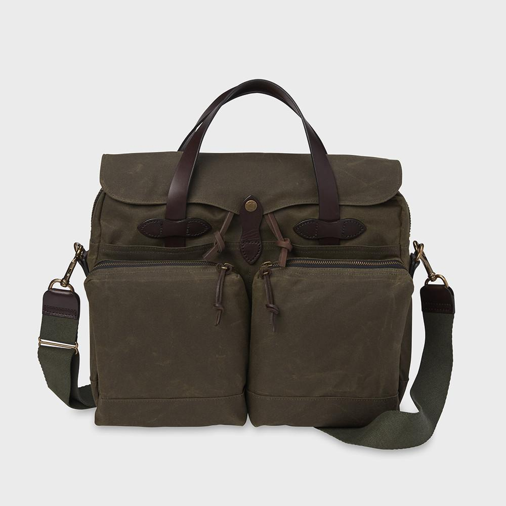 Filson 24 Hr Tin Briefcase Otter Green